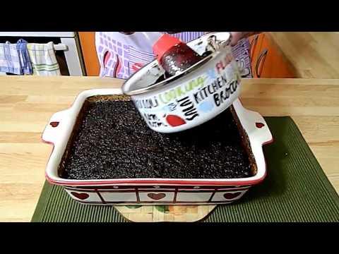 Brzi cokoladni kolac sa jabukama - recept