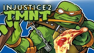 INJUSTICE 2 - TMNT CHARACTER DLC! TURTLE POWER!!!!