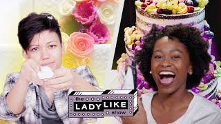 We Competed to Make Wedding Cakes • Ladylike