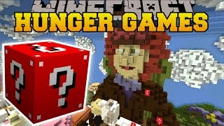 Minecraft: TEA PARTY HUNGER GAMES – Lucky Block Mod
