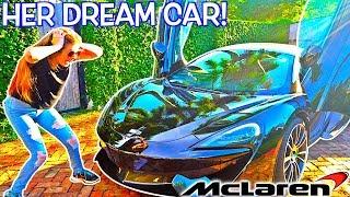 I BOUGHT MY GIRLFRIEND A $200,000 MCLAREN PRANK! (HER DREAM CAR!)