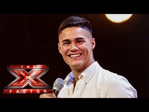 Charlie Martinez sings One Direction's You And I   Arena Auditions Wk 2   The X Factor UK 2014