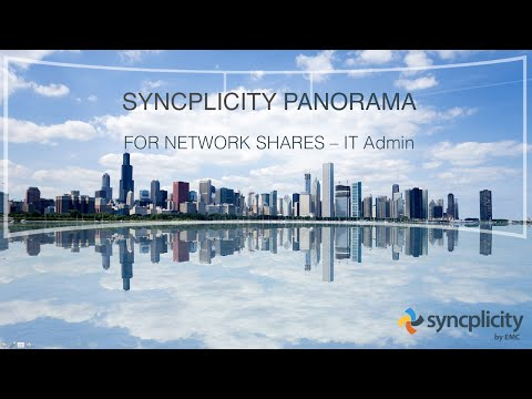 Syncplicity Panorama - IT