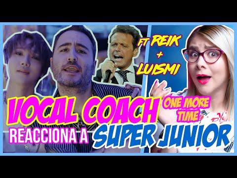 SUPER JUNIOR FT. REIK + LUISMI?   VOCAL COACH REACCIONA   Gret Rocha