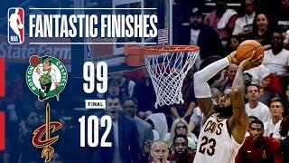 Best of Cavaliers Vs. Celtics Opening Night | Final Five Minutes