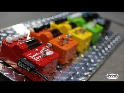 VOX Tone Garage Guitar Pedal Series: Jump Start Your Tone!