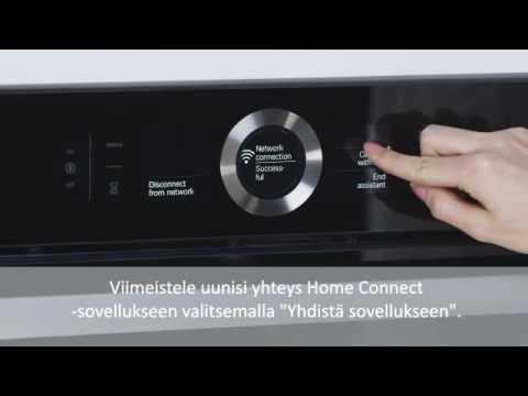 Home Connect-liitäntä Bosch-uunille