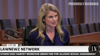 Rachel Stockman Talks Lisa Bloom and Harvey Weinstein on LawNewz Network