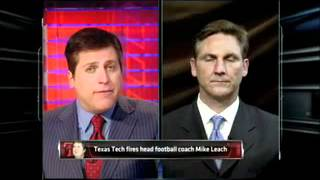 Craig James reacts to Leach being fired