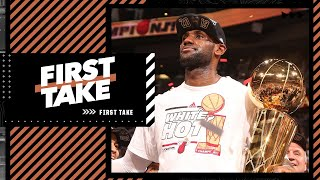 Stephen A. explains why LeBron will be remembered most for his time with the Heat   First Take