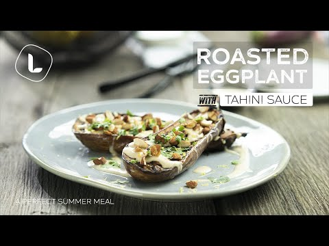 Roasted Eggplant with Tahini Sauce | Quick and Easy |Food Channel L Recipes