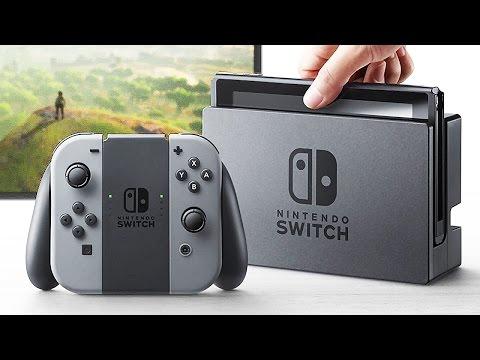 La nouvelle console NINTENDO SWITCH se dévoile ! - YouTube