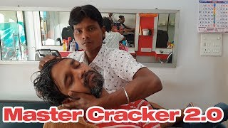 ASMR Master Cracker Unmatched Head Massage with Neck and Hair Cracking