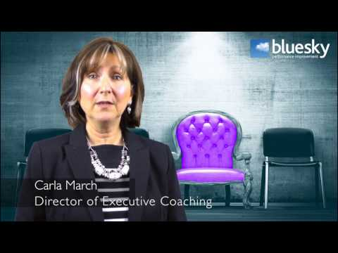 Blue Sky | Carla March | Executive Coaching - What Makes A Good Coach?