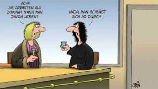 Uli Stein Cartoon Postkarten 2011 Teil 1 Youtube