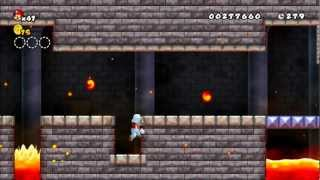 New Super Mario Bros Wii  Retro Remix Walkthrough Part 1