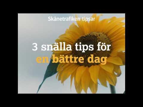 Skånetrafiken: 3 snälla tips for en bättre dag
