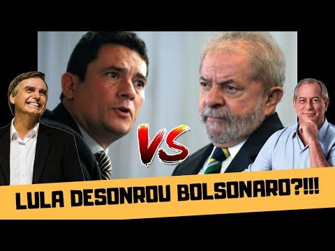 MORO QUER PRENDER LULA POR CHAMAR BOLSONARO DE