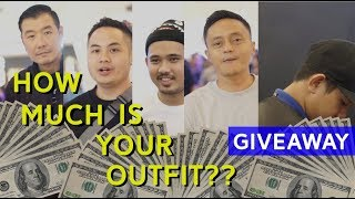HOW MUCH IS YOUR OUTFIT WORTH? + GIVEAWAY JORDAN 1 ROYAL