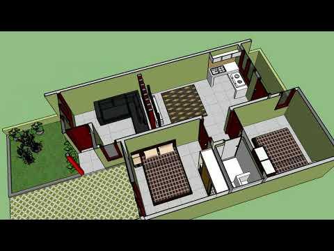 model rumah luas tanah 100m - inspirasi desain rumah 2019