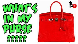 What's In My Purse? - Man Vs. Youtube #4