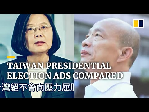 Taiwan presidential election: ads reflect contrasting campaigns of hopefuls Tsai Ing-wen and Han Kuo