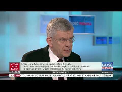 Stanisław Karczewski: jestem zwolennikiem wysokich kar dla posłów