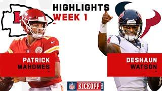 Patrick Mahomes & Deshaun Watson QB Battle | NFL 2020 Highlights