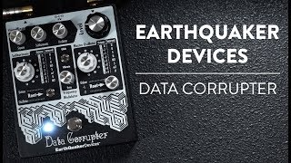 EarthQuaker Devices Data Corrupter Phase-Locked Loop Harmonizer Demo