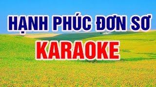 Hạnh Phúc Đơn Sơ - Karaoke Beat chuẩn || Nhạc Sống Thanh Ngân
