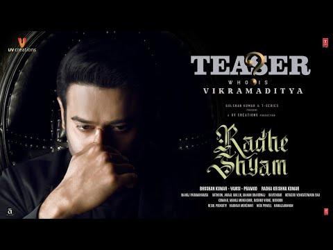 Radhe Shyam teaser: Introducing Prabhas as Vikramaditya - Pooja Hegde