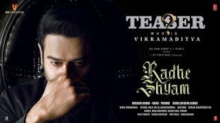 Radhe Shyam Movie 2022 Teaser Video HD