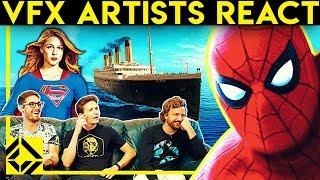 VFX Artists React to Bad & Great CGi 12