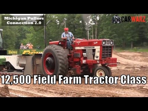 12,500 Field Farm Tractor Class WMP At Muskegon June 2018