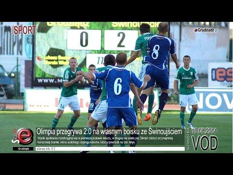Olimpia przegrywa 2:0 na własnym boisku ze Świnoujściem