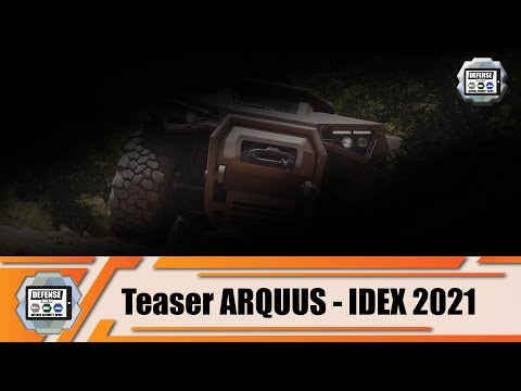 IDEX 2021: ARQUUS from France  to launch commercialization of new combat armored vehicle
