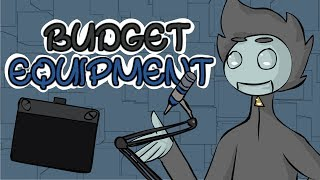 Making An Animation Channel: BUDGET EQUIPMENT!