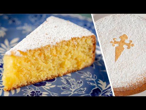 ПИРОГ из 3-х ингредиентов БЕЗ МУКИ И МАСЛА | миндальный пирог кекс САНТЬЯГО | простой рецепт