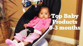 Top Baby Products 0-3 Months