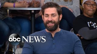 John Krasinski opens up about 'A Quiet Place' on 'GMA'