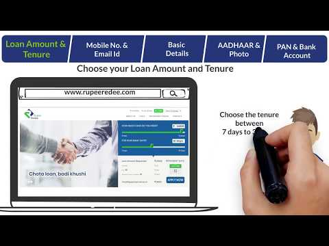 How to Apply for Instant Cash Loan: RupeeRedee Loan Application Process