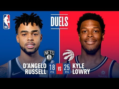 Kyle Lowry vs D'Angelo Russell: Dueling Triple Doubles