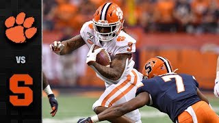 Clemson vs. Syracuse Football Highlights (2019)