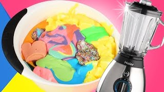 Giant Slime Smoothie! - MIXING MY SLIME COLLECTION!!! - BLENDING ALL OF MY SLIME!!! + ASMR!!!