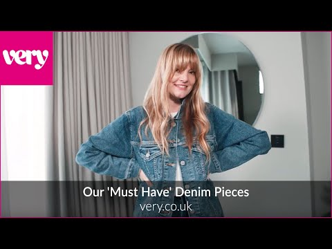 very.co.uk & Very Voucher Code video: Our 'Must Have' Denim Pieces | Very