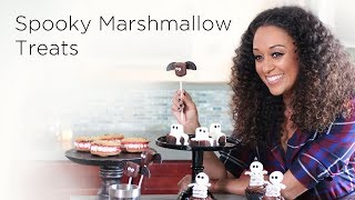 Tia Mowry's Spooky Halloween Marshmallow Treats | Quick Fix