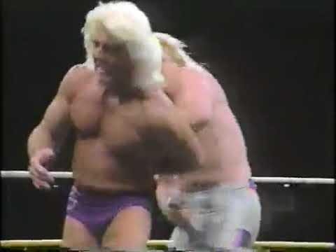 WCW - Ric Flair vs. Bobby Eaton Main Event 1-7-1990