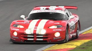 Chrysler/Dodge Viper GTS-R Sound – Accelerations  Fly Bys on Track!