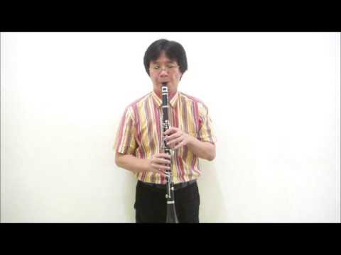 晉秦-綠島小夜曲Green Island Serenade-黑管/豎笛Clarinet練習01(no cover-by 任閒騎miraclemaryboy)降B調