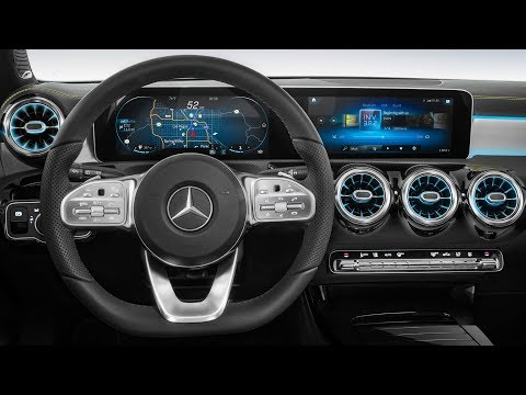 Mercedes Next-Gen Cockpit [CES 2018] 2019 Mercedes A-Class Interior preview